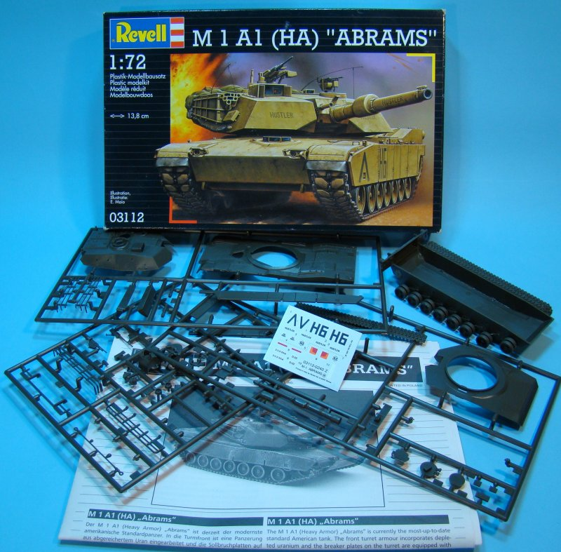 Abrams box contents