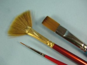 All About Paint Brushes