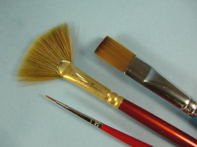 5 x 10//0 Miniatures /& Modellers Set of 5 Extra Fine Detail Paint Brushes