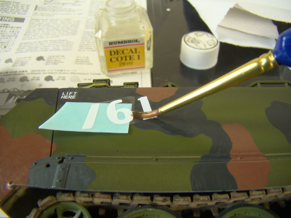 Decal application 1