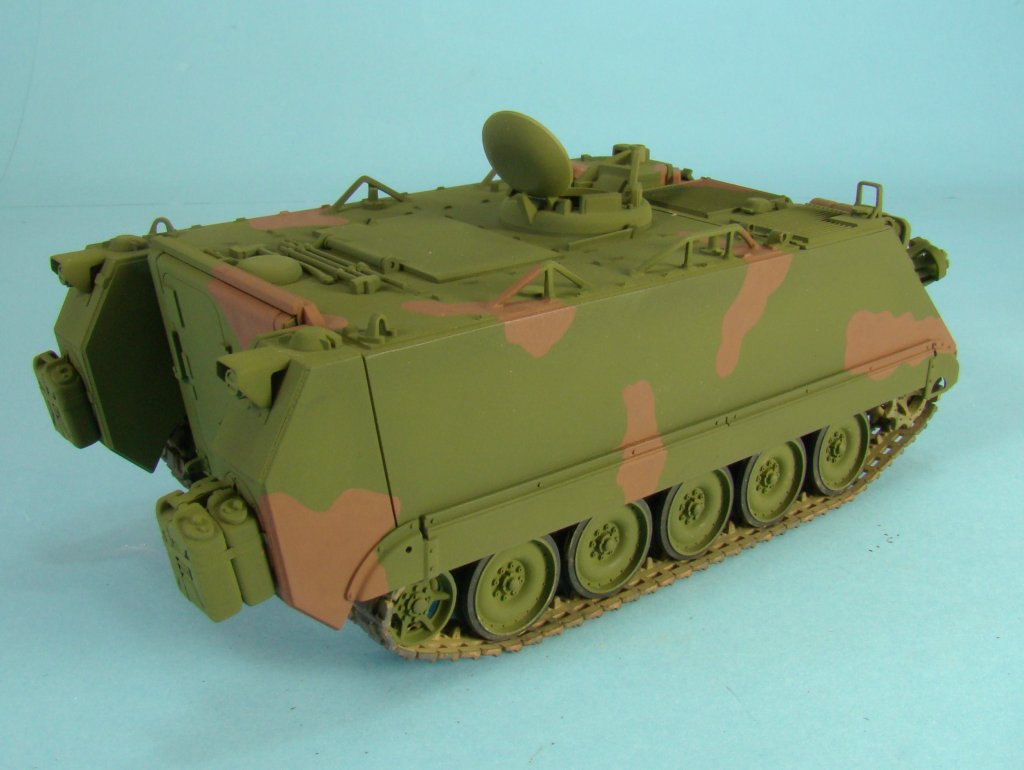 M113 after brown paint right side