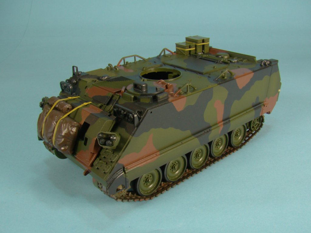 M113 post Klear left side