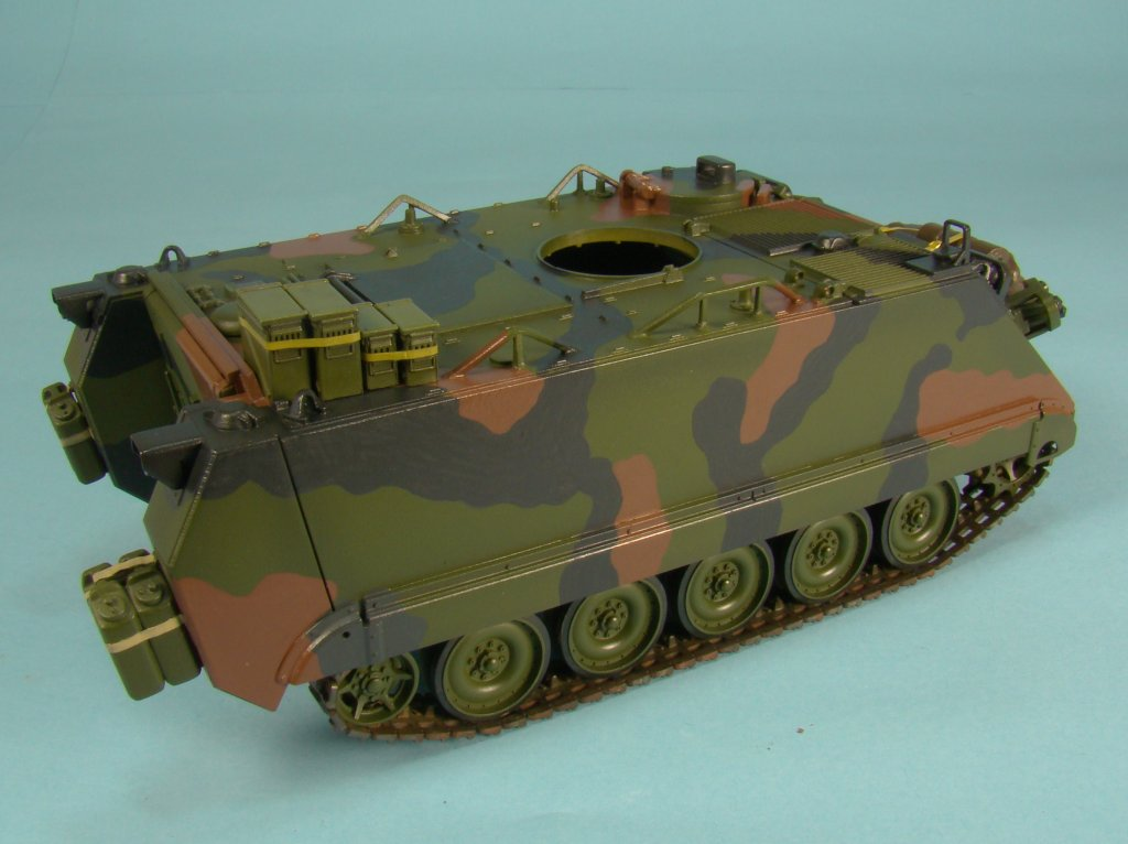 M113 post Klear right side