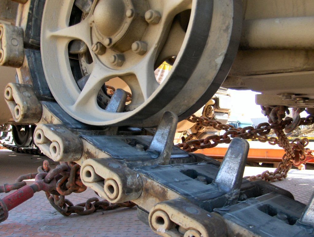 M113 tracks closeup 2