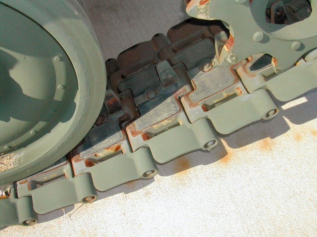 M113A2 tracks and wheels