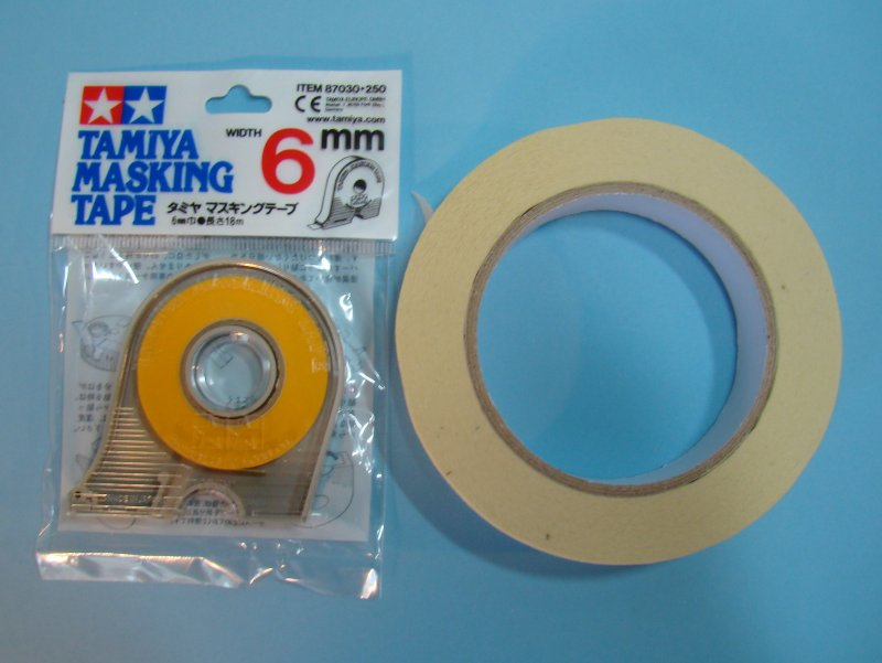 Information about scale model guide tips to improve yo - Masking tape utilisation ...