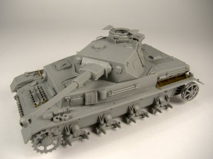 Panzer IV Ausf G Build Pt.3