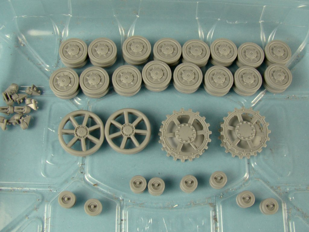 PZ4G prepared wheels