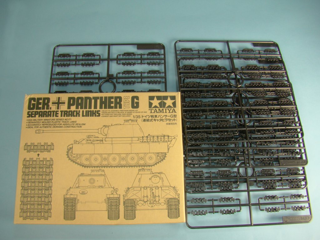 Panther G individual track links