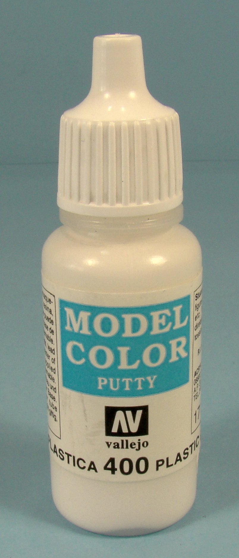 Vallejo plastic putty bottle