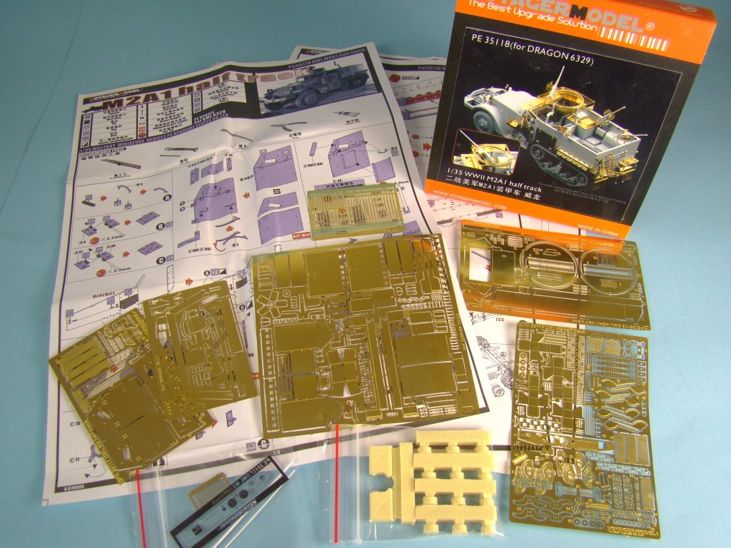Voyager photo etch set