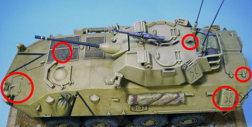 Washes-LAV25 with wash details