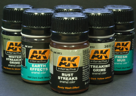 AK interactive paints